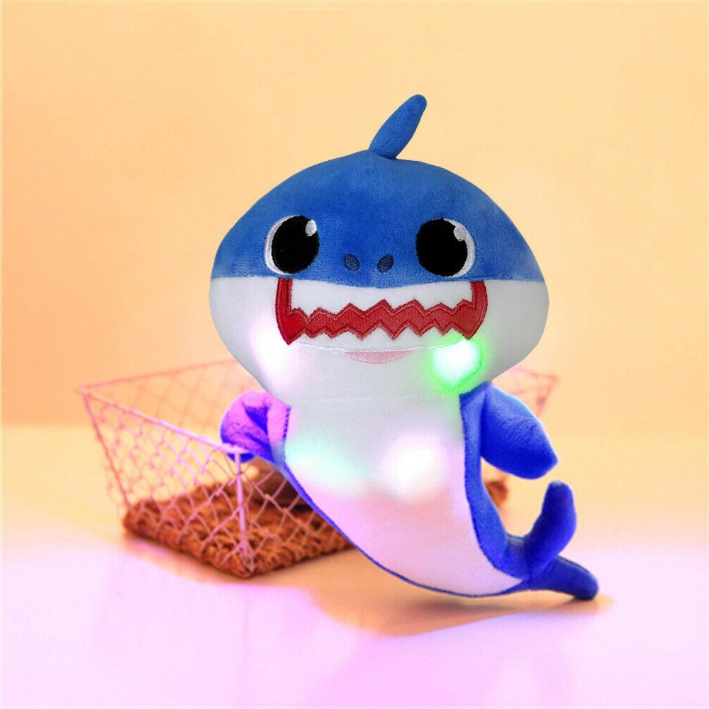 Baby Plush Singing LED Music Doll Toy Gift