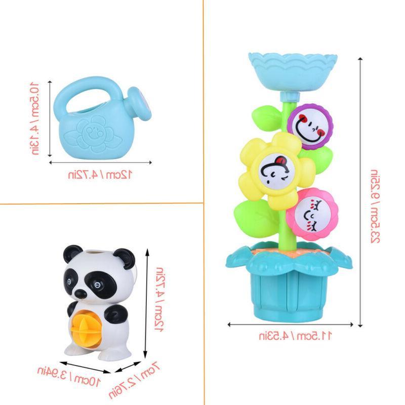 Baby Bath Toys Set Waterfall Station Set