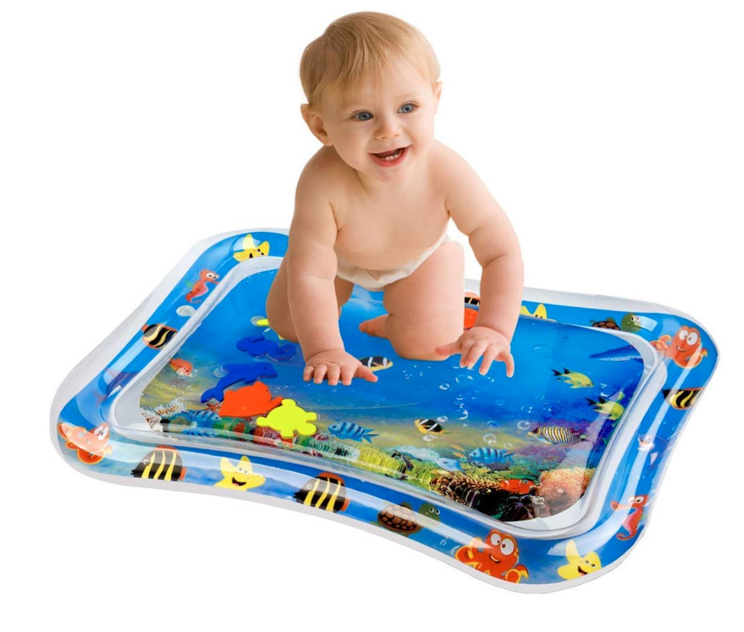 Baby Tummy Inflatable Floor Funny