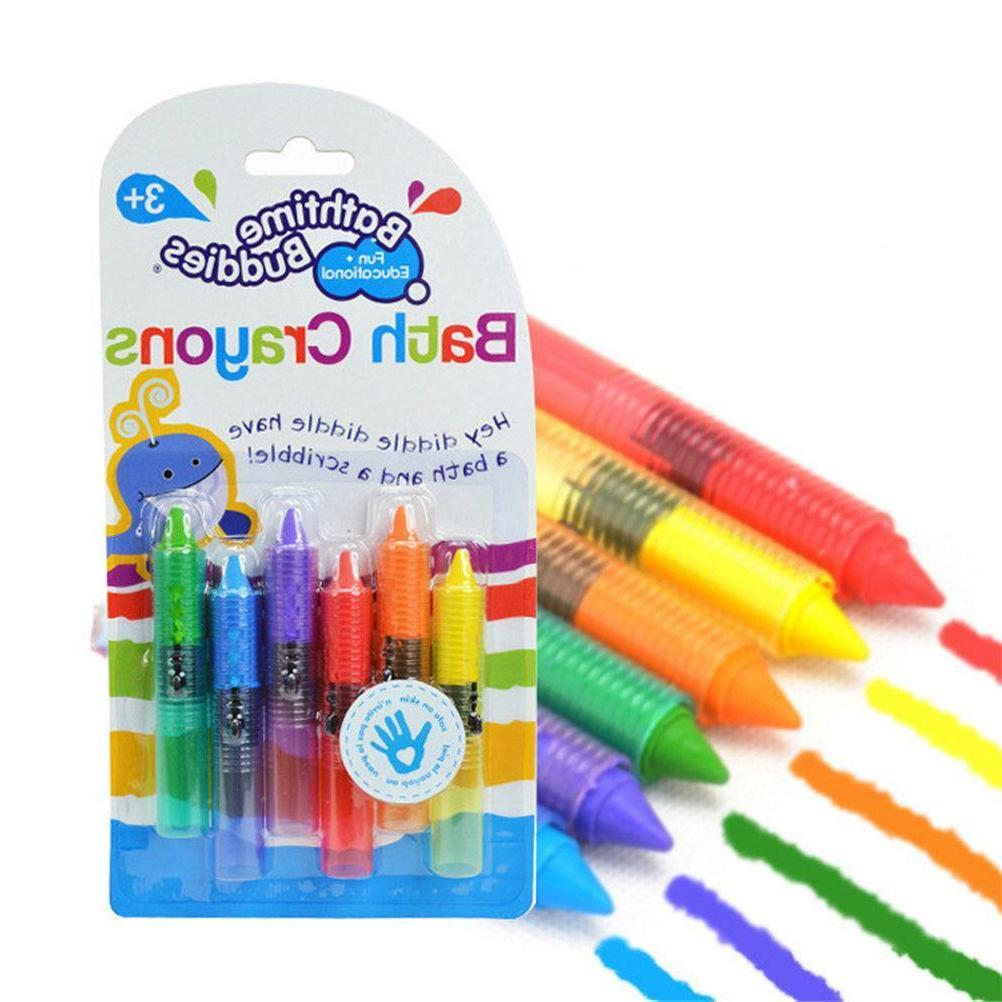 Bath Drawing Crayons Safe For Kids Bath Playing Educational
