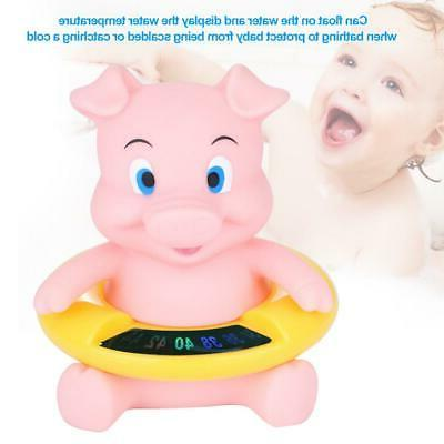 Shape Bath Tub Baby Care Water Thermometer Infant Shower Toy