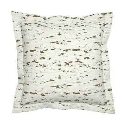 Birch Nature Baby Pillow Sham