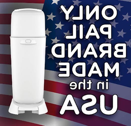 Diaper Pail, Fully Assembled, with Odor