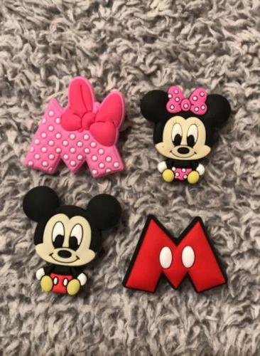 croc charms 4piece lot baby mickey mouse