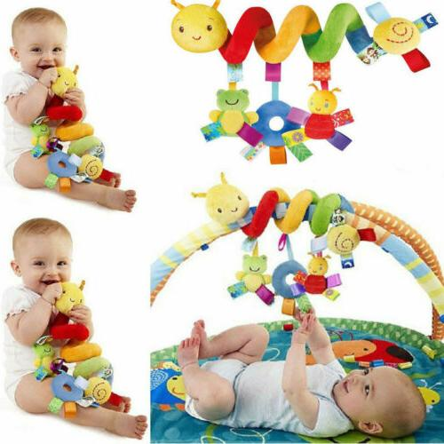 Cute Activity Spiral Crib Stroller Car Seat Travel Hanging T