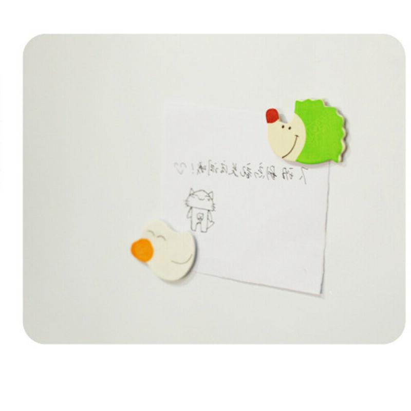 Cute Toy Kids Wood Cartoon Animal Fridge Magnet