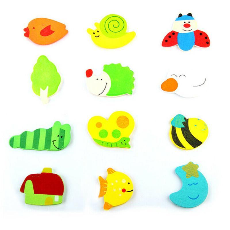 Cute Early Educational Toy Kids Cartoon Animal