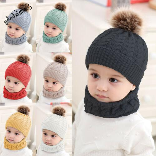 Baby Infant Crochet Knit Beanie Cap
