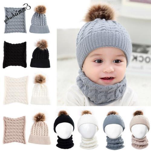 Cute Baby Warm Crochet Cap