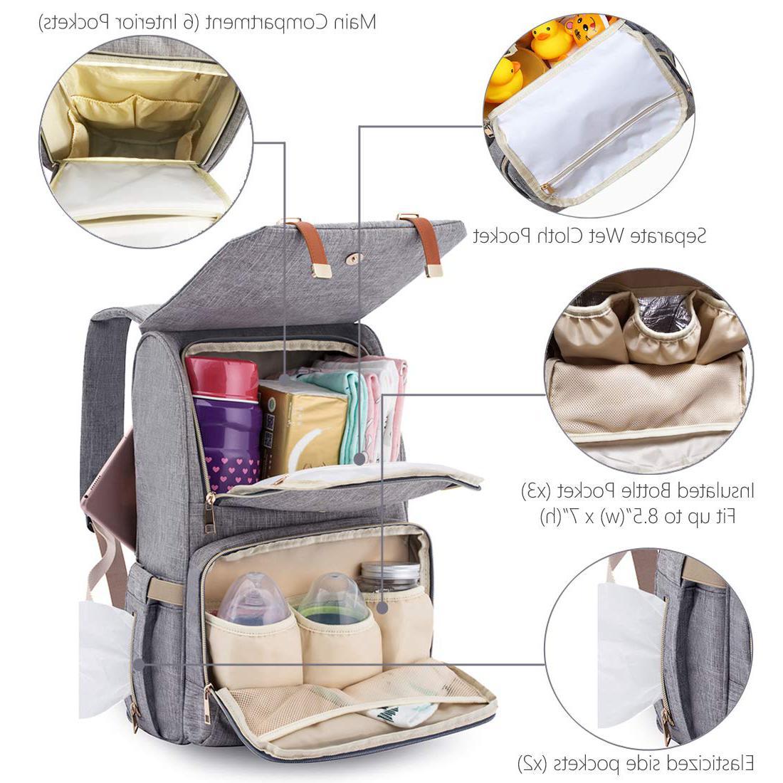 Diaper Bag and Boys,Multi-Function,Waterproof