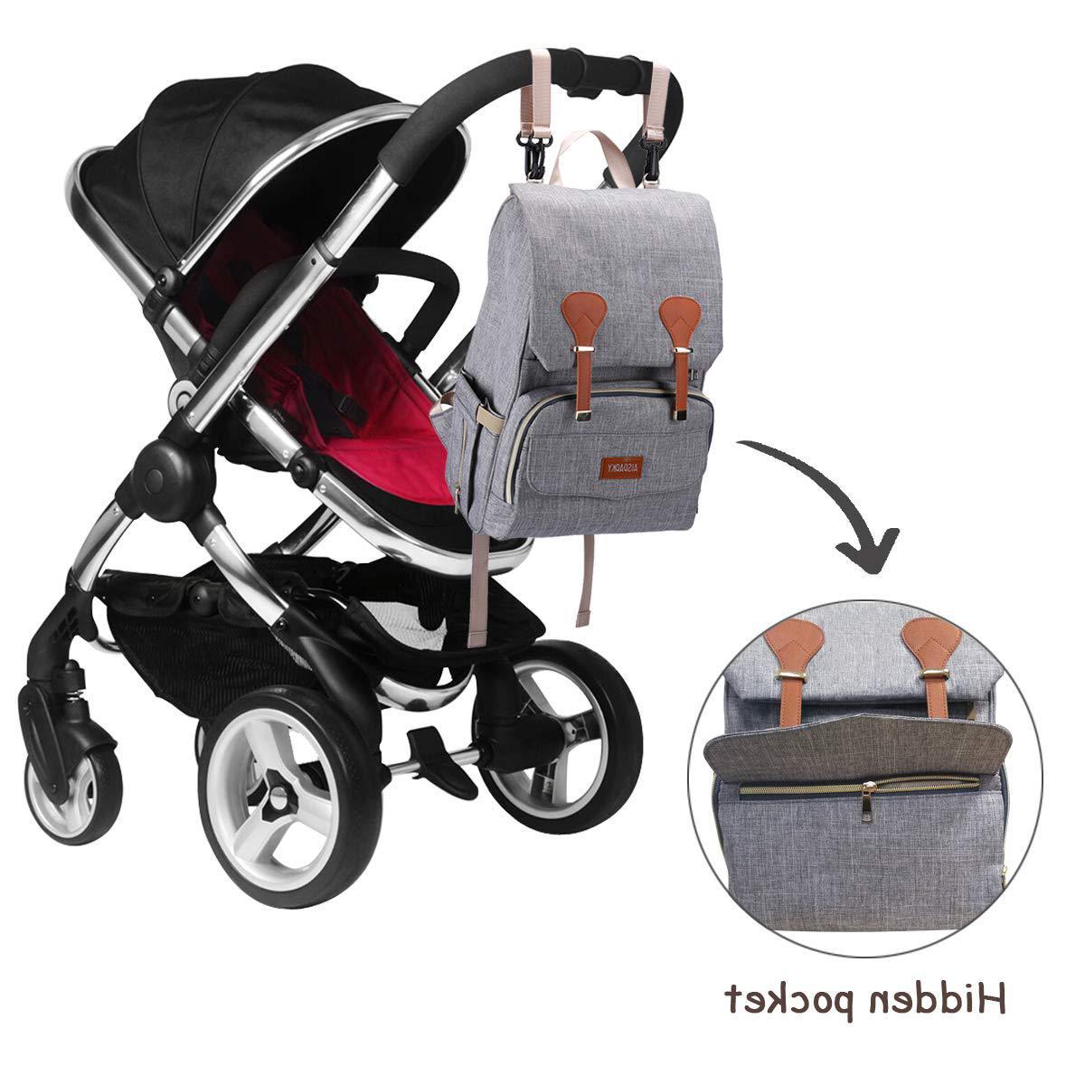 Diaper Bag for Girls and Boys,Multi-Function,Waterproof