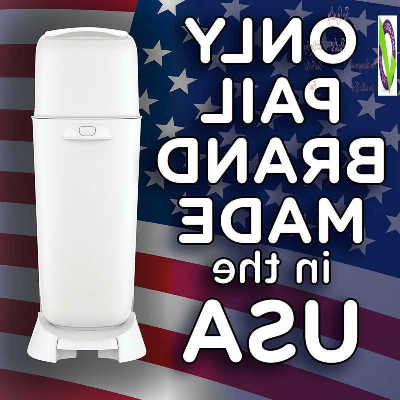 Diaper Pail, Fully Odor Lock Technology,