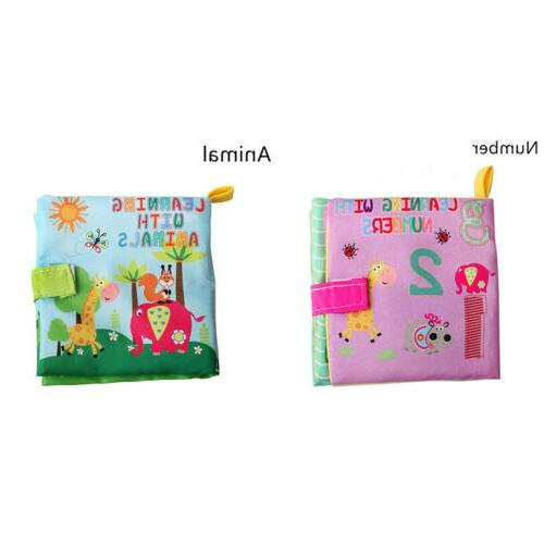 Educational Bed Intelligence Development Cloth Toys