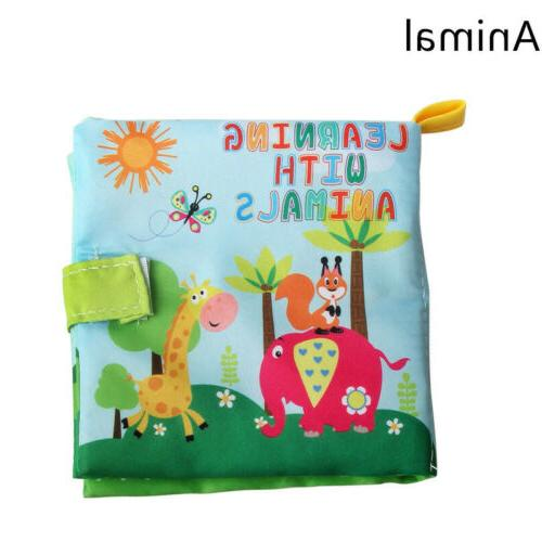 Educational Baby Kids Book Bed Cloth Toys