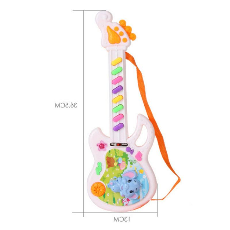 Electric Guitar Toy Play For Kids Learning Electron Gift