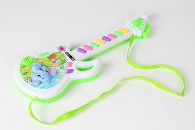 Electric Guitar Toy Play For Kids Learning Electron