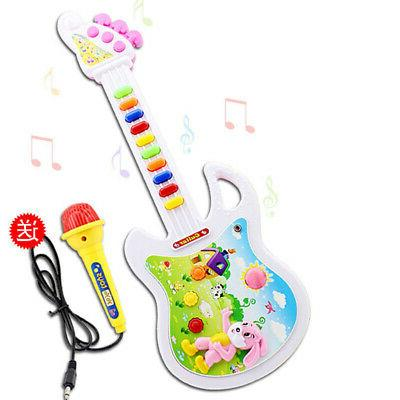 Baby Kids Mini Guitar Toy Musical Instrument Funny Music Edu