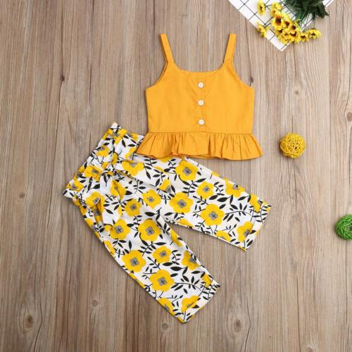 Fashion Baby Girls Solid Pants Clothes US