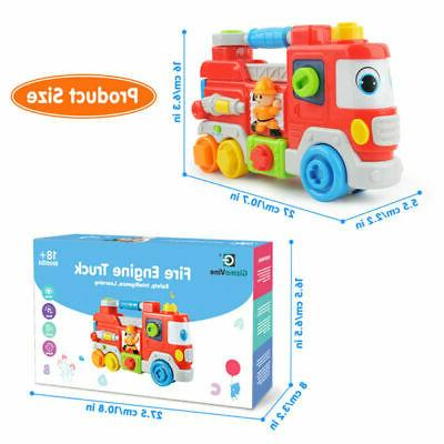 Toddler Fire Engine Truck Toy Development Baby Toys