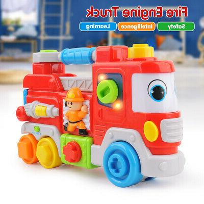 toddler fire engine truck toy learning educational