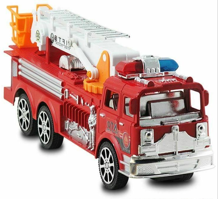 Fire Truck Toy Toys Model Kids Car Rescue Baby Vehicle Gift