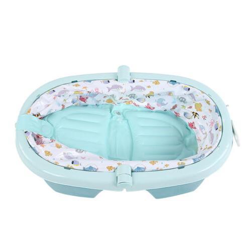 Foldable Tub w/ Storage Baby