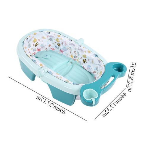 Foldable Newborn Bath Tub w/ Baby Shower