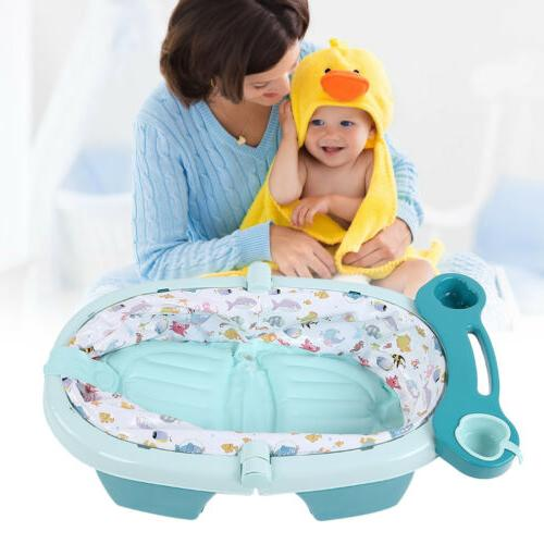 Foldable Tub w/ Block Baby