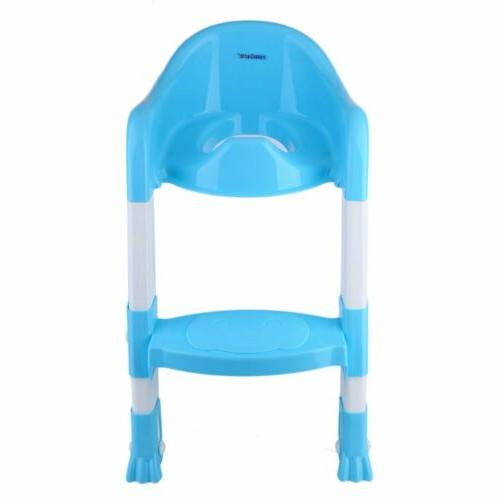 Folding Potty Training Toilet Seat Chair Step Ladder MY
