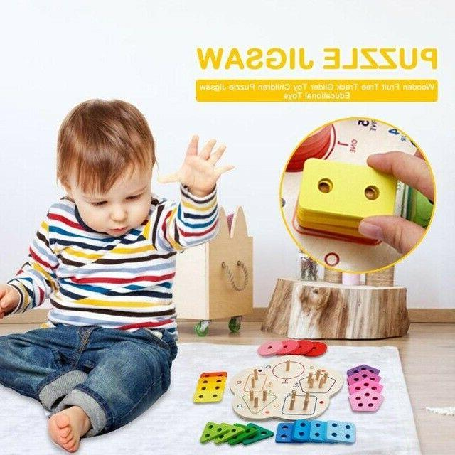 Geometric Blocks Game Toy Learning Stacking Baby Educational