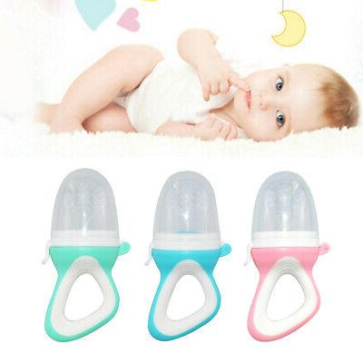Teeth Toy Food Feeder Fruit Pacifier Soup Supplies With Cap