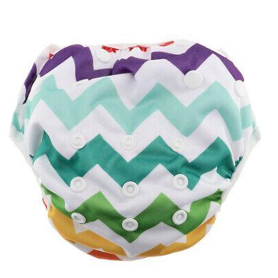 Reusable Adjustable Baby Swim Diaper Training Pants Both For