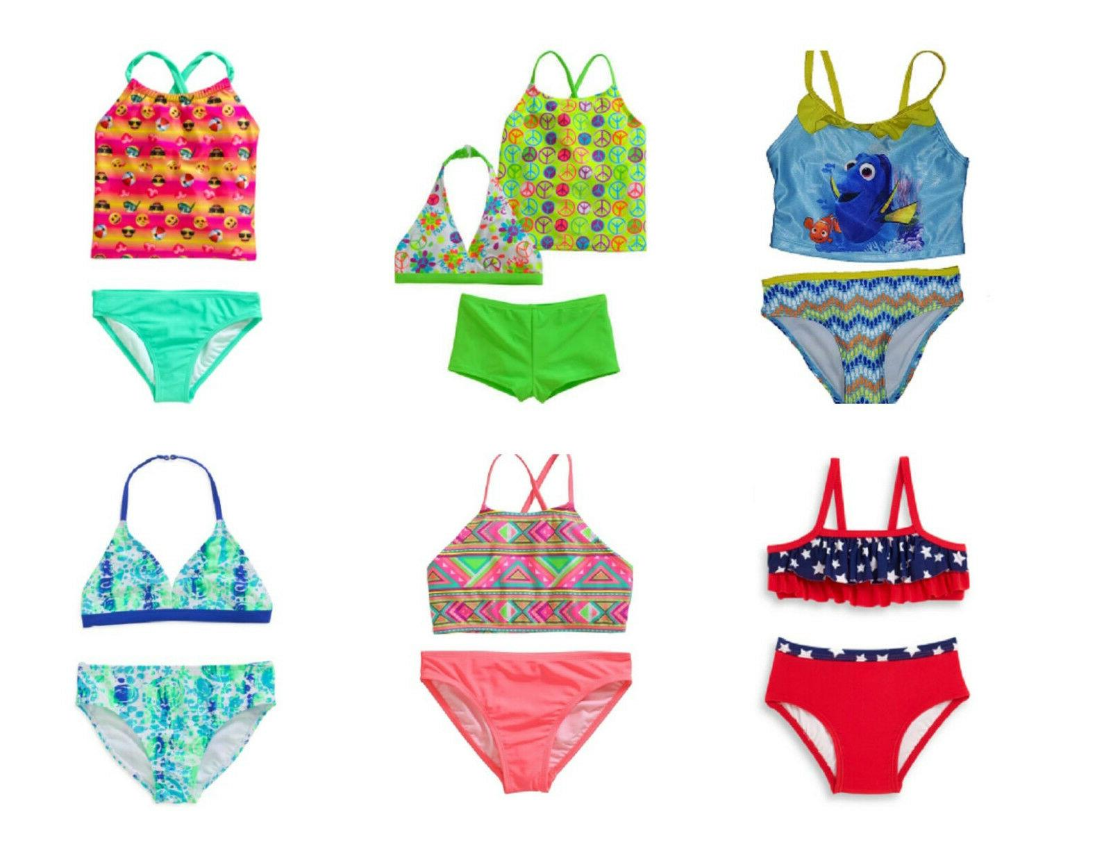 Girls' and Baby Girl's 2-Piece Tankini Set Size ~XS~S~M