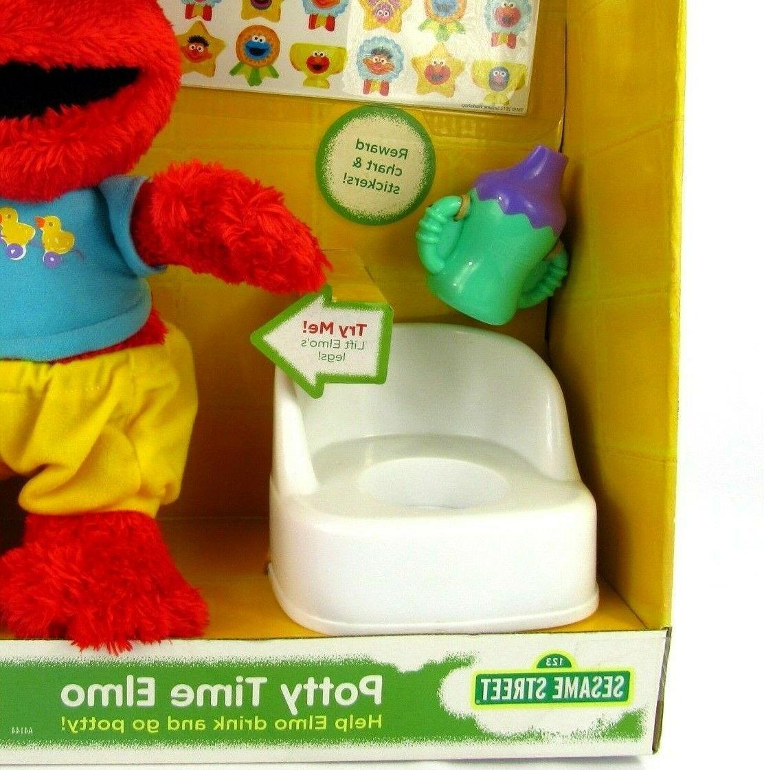 Hasbro Street Time Elmo Toddler Toilet Training