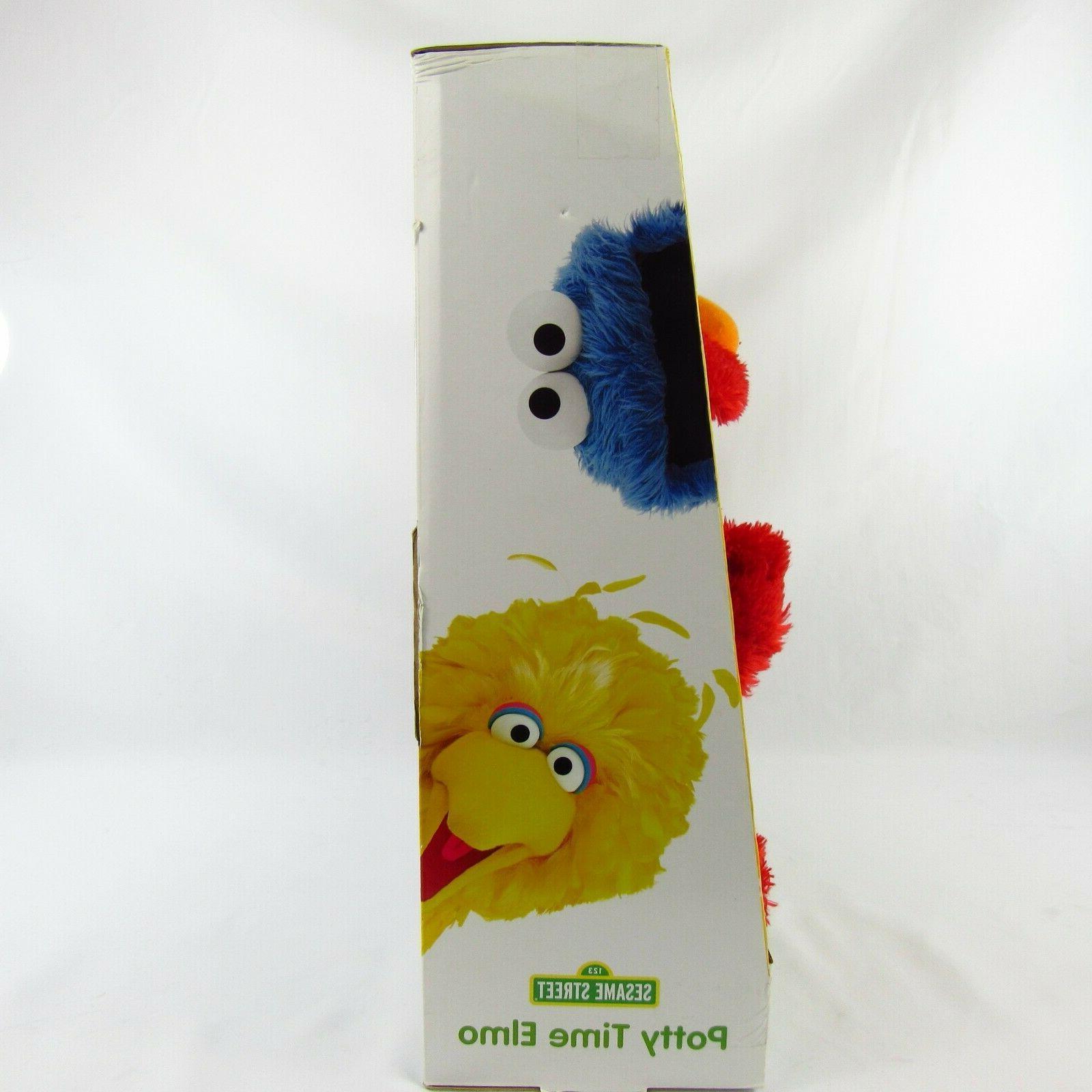 Hasbro Sesame Potty Time Toilet Training Toy NIB