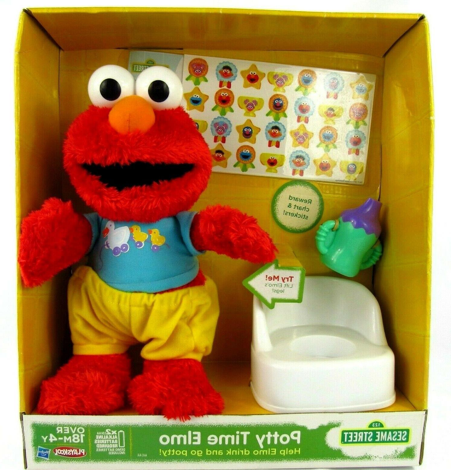hasbro sesame street potty time elmo toddler