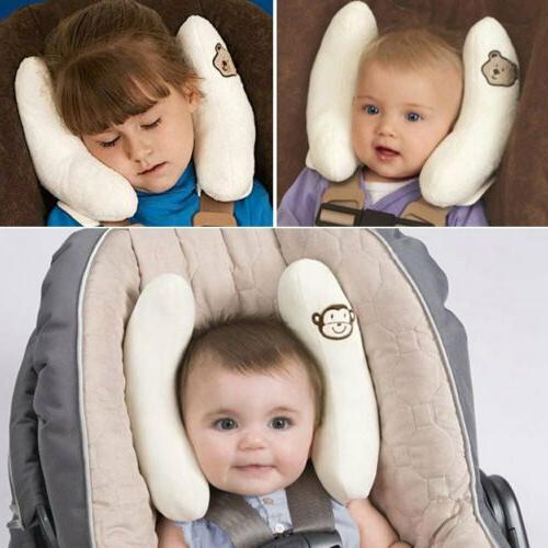Baby Car Seat Stroller Safety Pillow Banana Shape Travel Hea