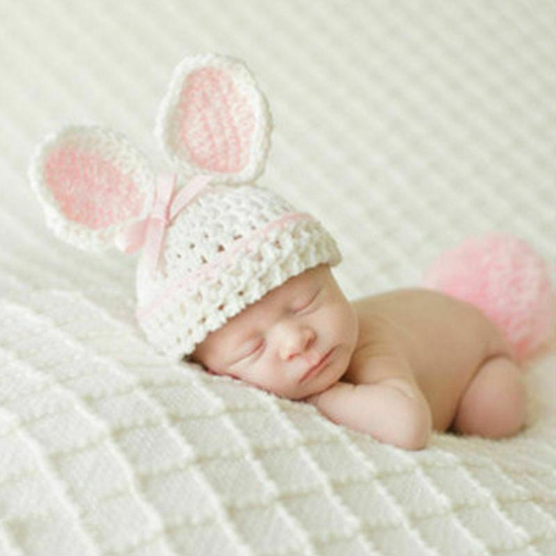Hot Newborn Baby Knit Costume Photo Prop Outfits