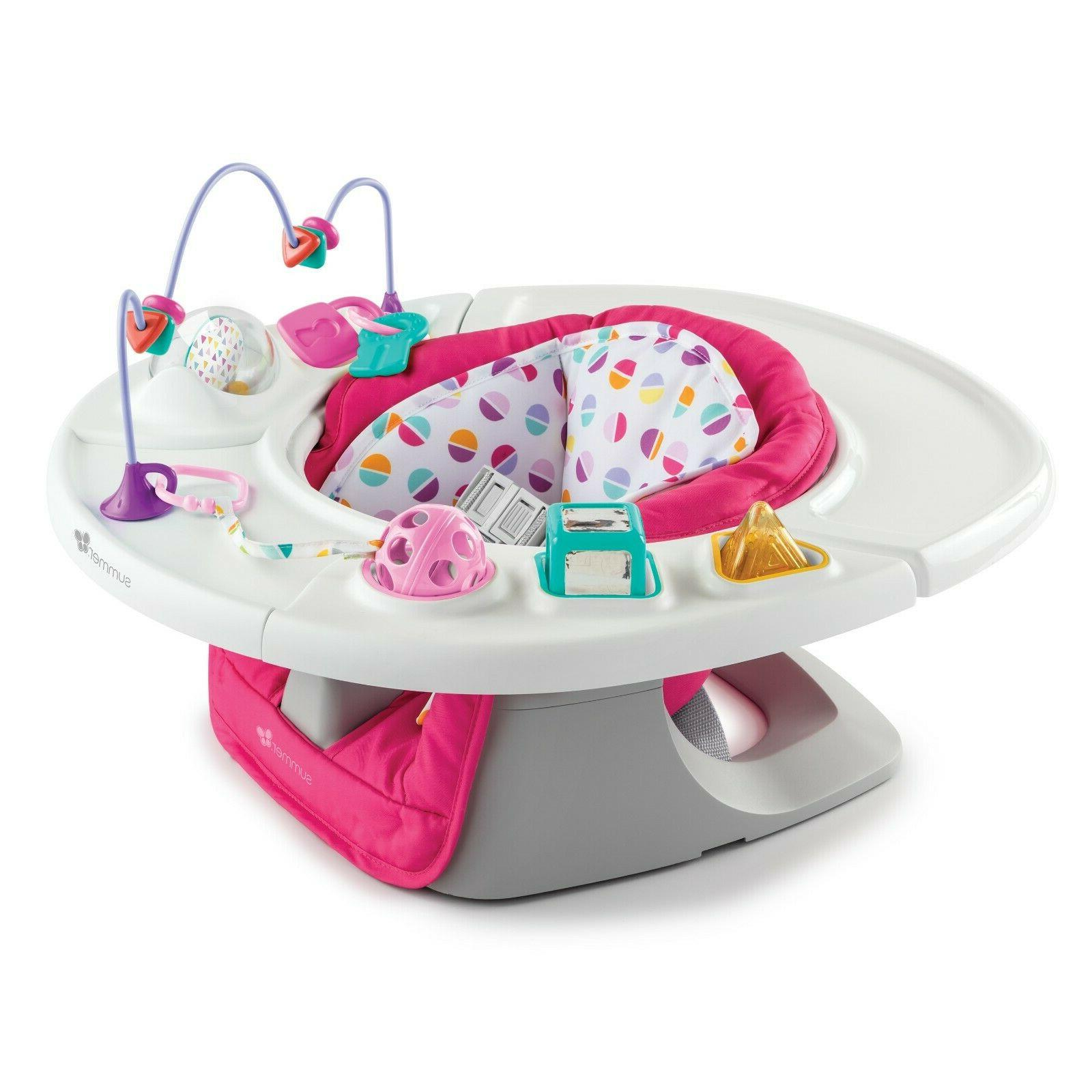 Infant 4-in-1 Super Seat Baby Chair Activity Center Booster
