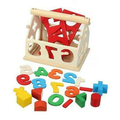 Kids Wooden House Educational Best