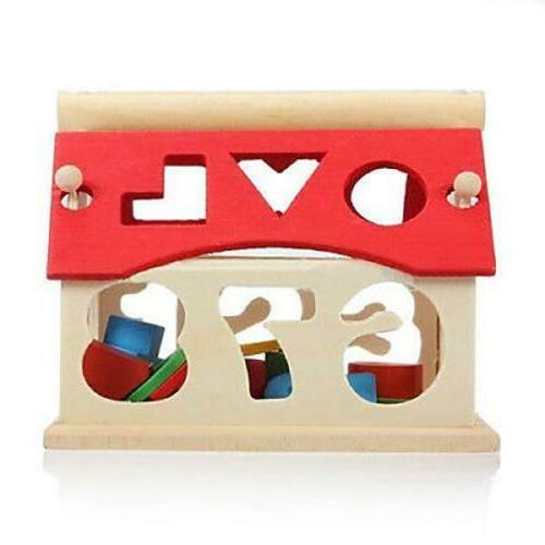 House Puzzle Numbers Educational Best Gift