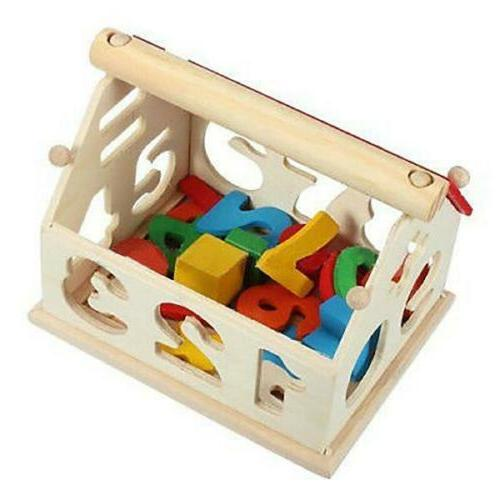 Kids Baby House Puzzle Numbers Learning Educational Toys