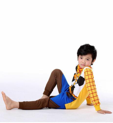 Toddler Toy Buzz Lightyear Woody Sleepwear Outfit