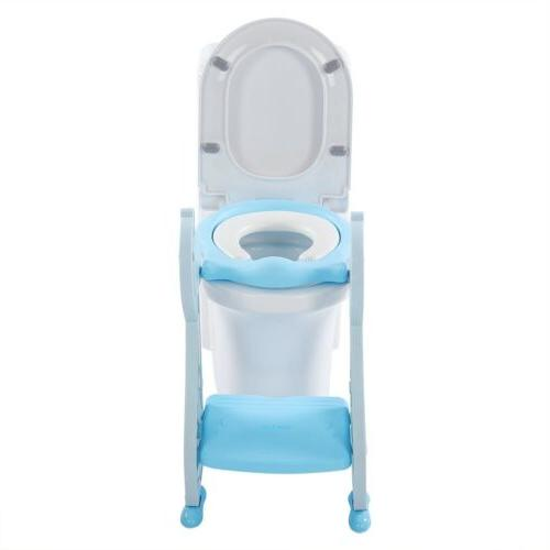 Kids with Step Toilet Chair Toddler