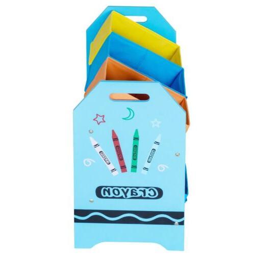Kids Toddler Toy Storage Case Basket Organizer