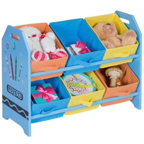 Kids Storage Case w/6 Organizer
