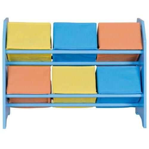 Kids Toddler Storage Case Basket Organizer