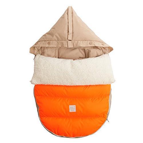7AM Enfant Lamb Pod Cover Car-Seats, Neon Orange,