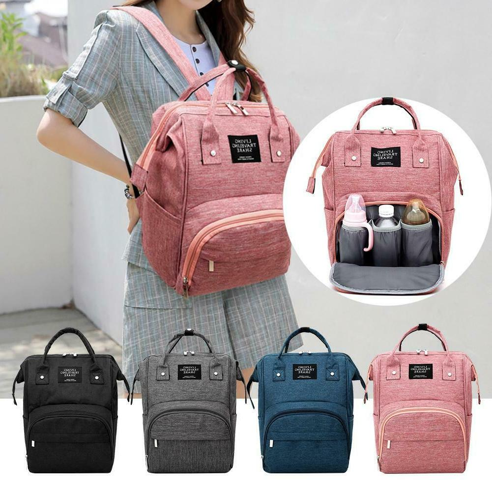 Mommy Travel Backpacks Large Maternity Nappy Diaper Baby Car