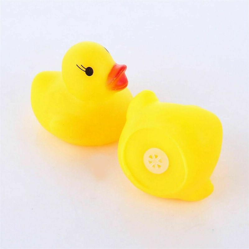 Lot of Yellow Floating Ducky Toys